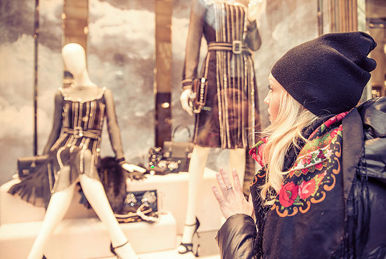 Spending Out Of Control? Woman Shopping Feature Image