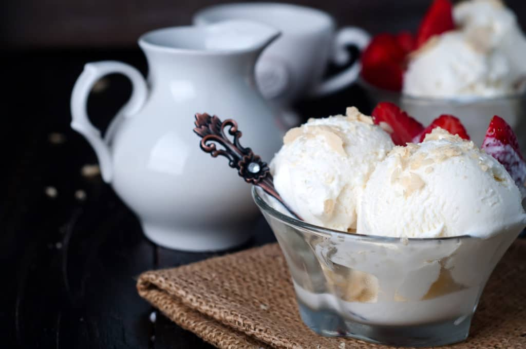 Easy homemade ice cream for a low cost