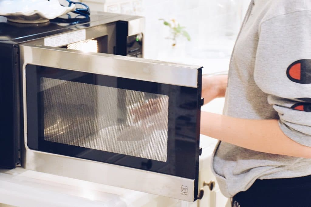 Using a microwave over an oven where possible can help cut down the cost of electricity bills, helping you to save money