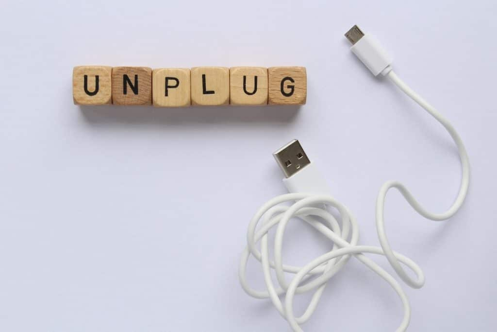 Unplugging devices can help save money