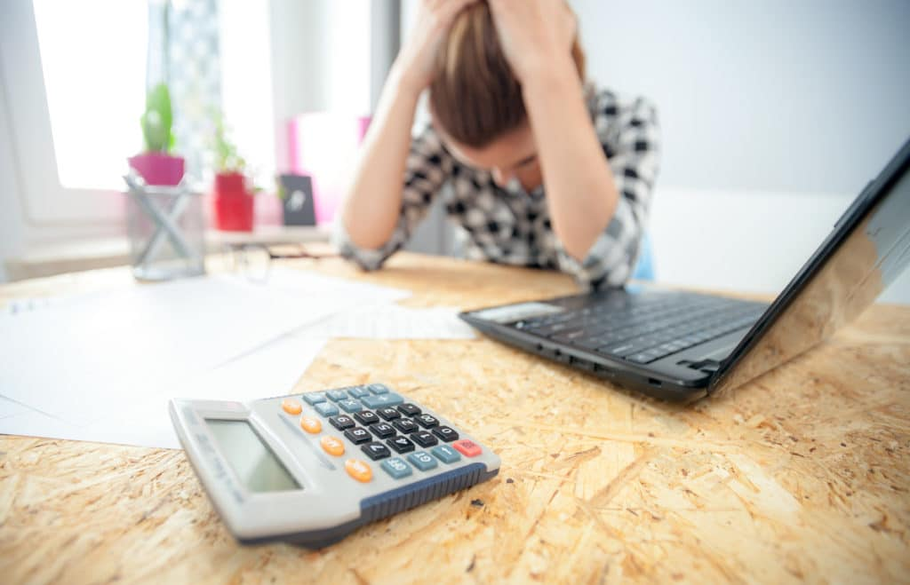 anxiety and depression from money worries