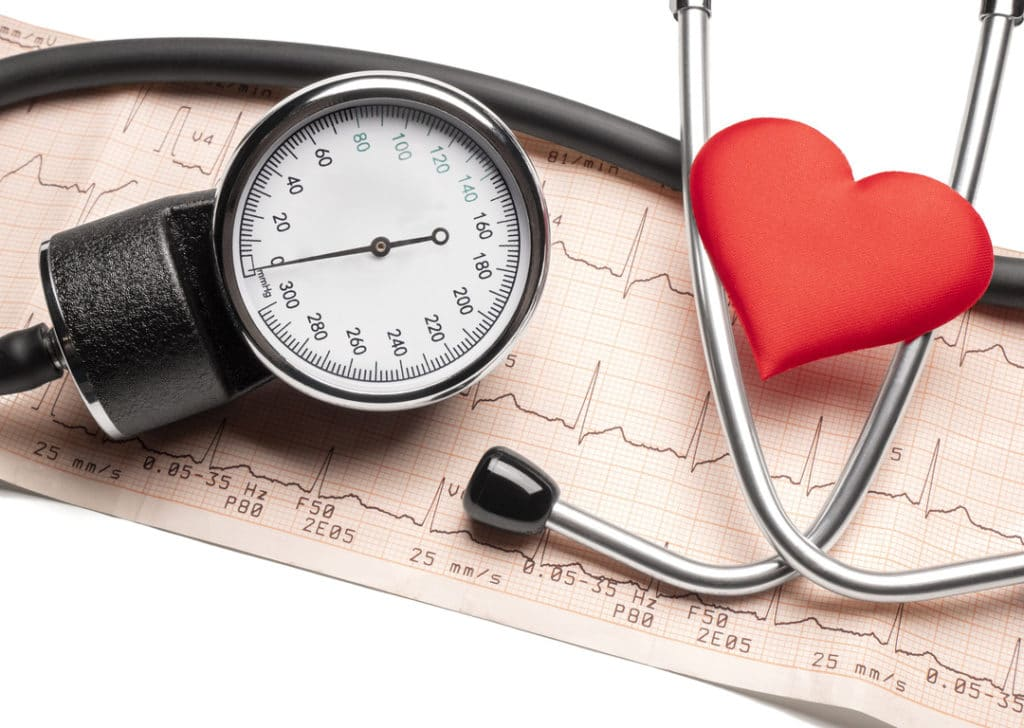High blood pressure from stress